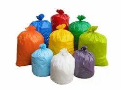Colored HDPE Garbage Bag