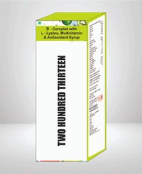 B Complex with L Lysine Multivitamin & Antioxidant Syrup