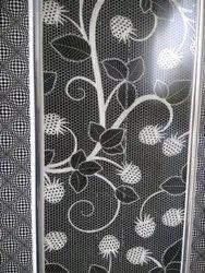 Flower Touch PVC Door