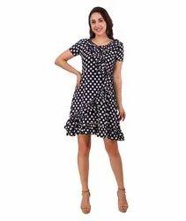 Polka Dots Women Dress