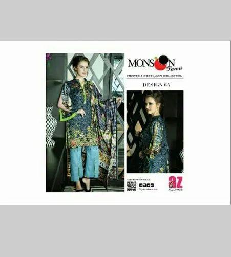 9492ff3db3 Printed Lawn Pakistani Lawn Suit, Rs 1150 /piece, New Madina ...