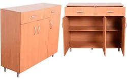 Wooden Filing Cupboards