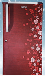 Red 3 Star Blossom Series Refrigerator, Number of Shelves: 1, Compact
