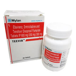 Efavirenz, Emtricitabine and Tenofovir Disoproxil Fumarate Tablets IP