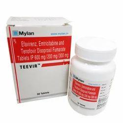 Efavirenz, Emtricitabine and Tenofovir Disoproxil Fumarate Tablets IP