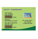 Safety Message Display