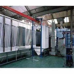 Section Powder Coating Plant