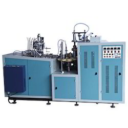 Fully Automatic Paper Cup Making Machine, Production Capacity: 250 - 350 pieces / hr
