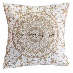 Mandala Cotton Printed Cushion Covers
