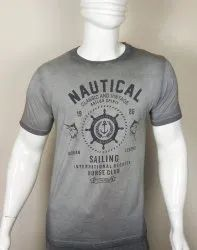 Mens Casual Wear Round Neck T Shirt