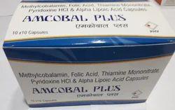 Methylcobalamin, Folic Acid, Thiamine Mononitrate, Pyridoxine HCI Alpha Lipoic Acid Capsules