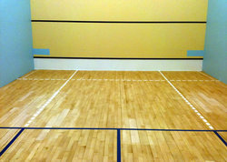 Squash Court Refurbishment