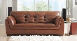 Wooden 2 seater sofa