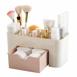 cf6947f037 Cosmetic Organizer Jewelry Box Office Storage Drawer Desk Makeup Case Brush  Box Lipstick Casket For