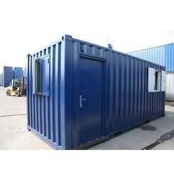 矩形软钢办公室,尺寸:10 X 20英尺