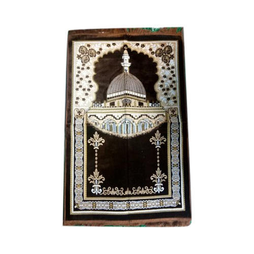 Multicolor Babloo Carpet Emporium Prayer Mat, Size: 150x200 Cm