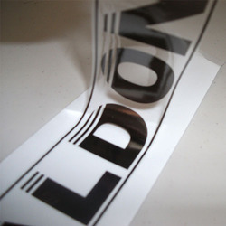 Transparent Vinyl Printing Service