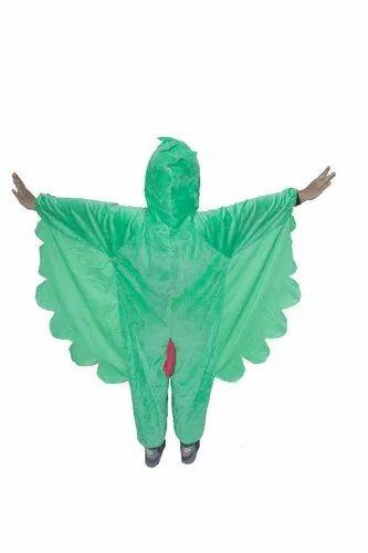 Green Velvet Parrot Bird Fancy Dress Costume Size M Rs 800 Piece