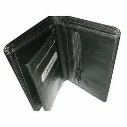 SGC Black Pure Leather Wallet