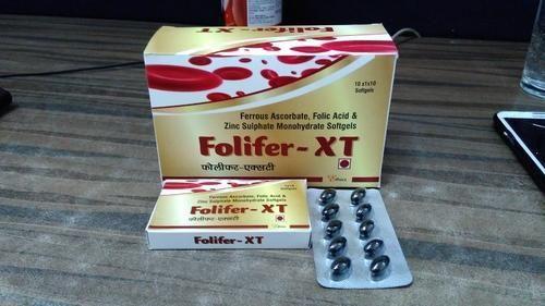 Ferrous Ascorbate Folic Acid Zinc Sulphate Tablet 10x10 Rs 250