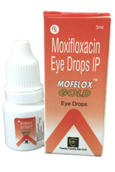 Moxifloxacin Hydrochloride Ip Eq. To Moxifloxacin 0.5% W/v Sterile Aqueous Vehicle Q.S.