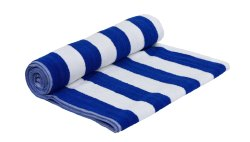Multicolor Stripped Pool Towel, For Home,Hotels, Size: 30 X 60 & 36 X 72