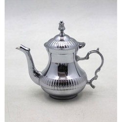 Hand Carved Luxury Brass Moroccan Teapot Coffee Kettle