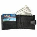 LWFM00136 Black Mens Leather Wallet