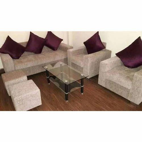 Suede Sofa Set