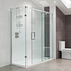 Bathroom Glass Partition shower partition at best price in india