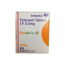 ENTALIV-ENTECAVIR TABLETS IP 0.5 Mg
