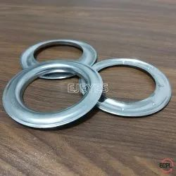 40mm Stainless Steel Curtain Round Eyelets & Washers Polished