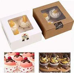 Cup Cake Box ( 6pcs )