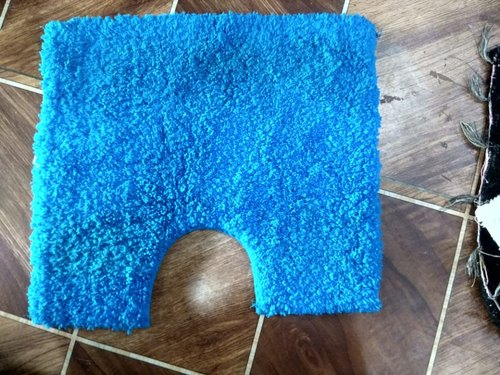 Blue Bathroom Rug Packaging Type
