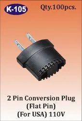 K-105 2 Pin Conversion Plug