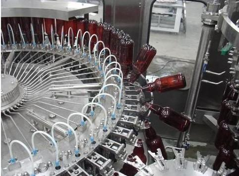 Bottle Filling Machine For Liquid, Beer, Gin, Vodka - The Radhey Export at  Rs 710000/unit , Ahmedabad | ID: 4126322433