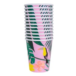 Printed Cold Drink Paper Glass, Packet Size: 100 Piece, Capacity: 100 ML