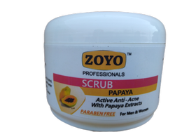 Cream Papaya Face Scrub, For Personal,Parlor, Packaging Size: 500 Gm