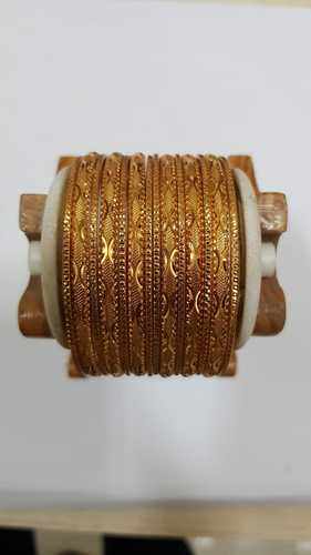 Party Wear And Regular Wear Western Golden Bangles