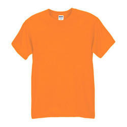 Orange Mens T Shirt, Packaging Type: Box