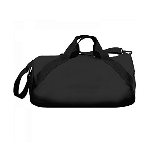 Black Plain Duffel Bag