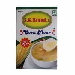SK Brands 100 Gm Corn Flour, Speciality: Organic