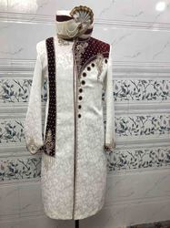 Luxury High Quality Sherwani For Wedding, Parties