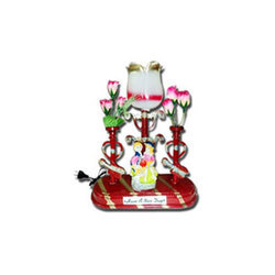Multicolor Gifting Flower Statue, For Interior Decor