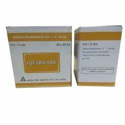 Aquabicarb Sodium Bicarbonate Injection, Aqua Fine Injecta, 20 X 25 Ml