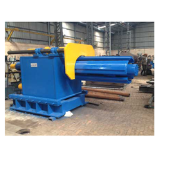 Hydraulic Re-Coiler Machine
