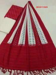 Ikkat Designer Salwar Unstitched Suit