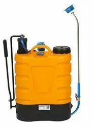16 Lit Battery Cum Hand Operated Sprayer, Capacity: 16 liters