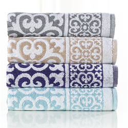 Jacquard Bath Dyed Towel