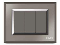 Valencia Series Frosted Mirror Switch Plate